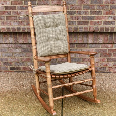 Rembrandt Tan Rocker Cushion Set