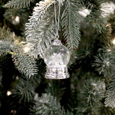 Snowflake Water Ball Ornament