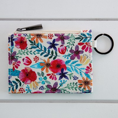 Women's Floral Card Wallet