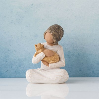 Willow Tree ® Cat Kindness Figurine