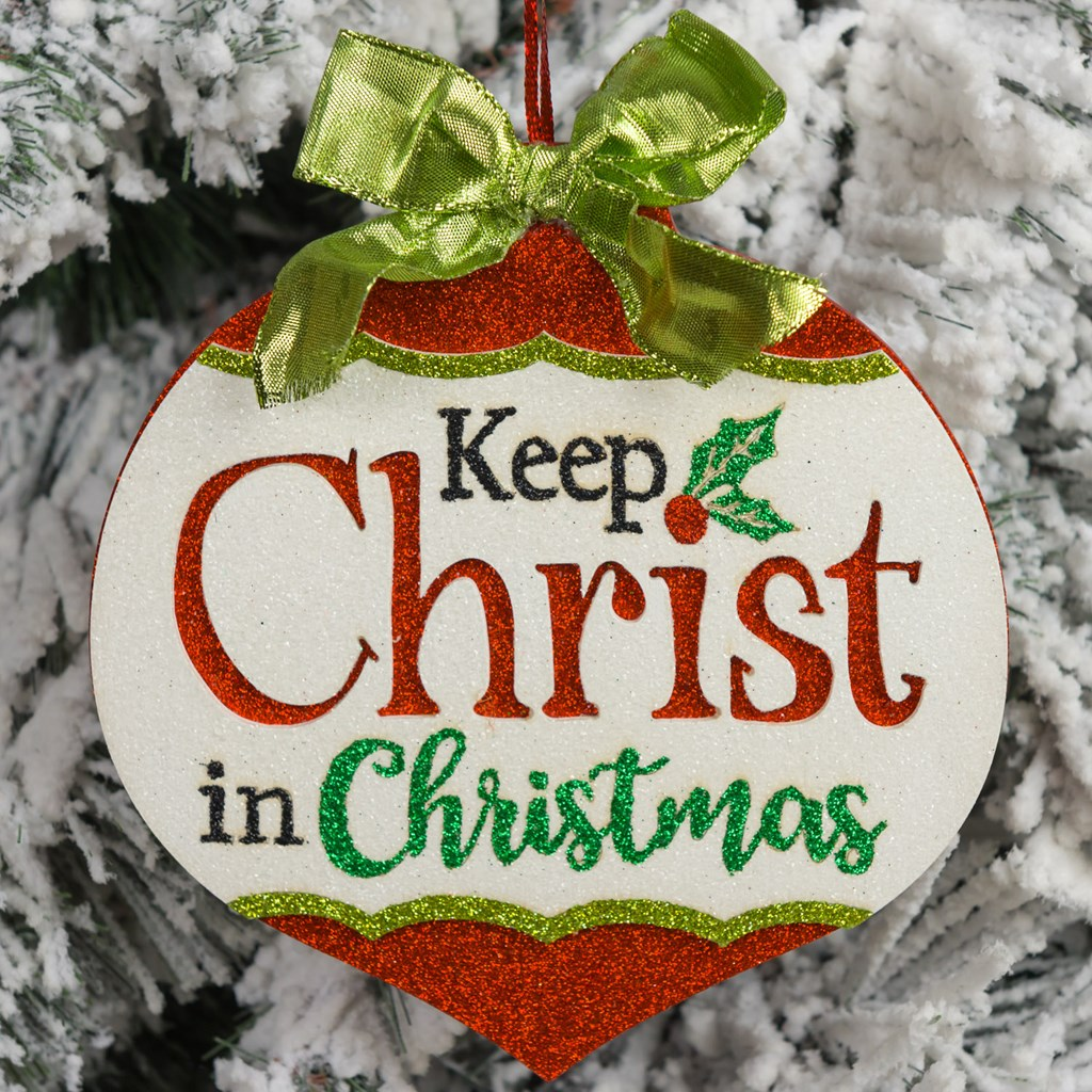 keep christ in christmas ornamentkeep christ in christmas