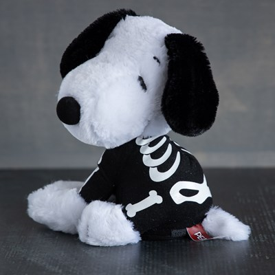 Animated Spinning Skeleton Snoopy