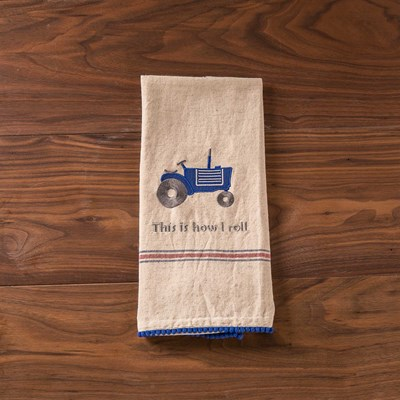 """This is How I Roll"" Dish Towel"
