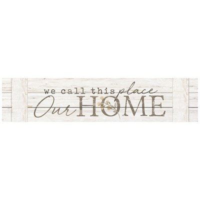"""Our Home"" Pallet Sign"