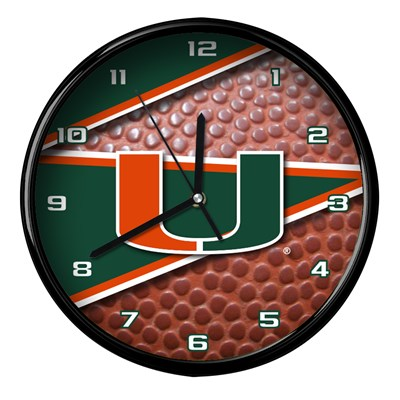 Miami - Football Clock