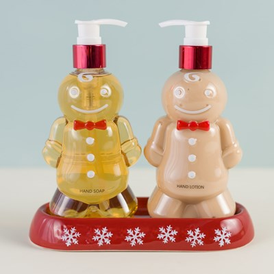 Gingerbread Soap and Lotion Set
