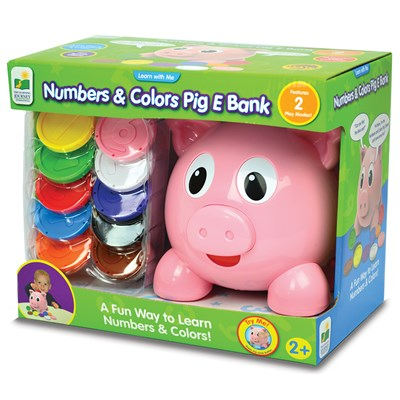 Learn with Me Numbers and Colors Pig E Bank