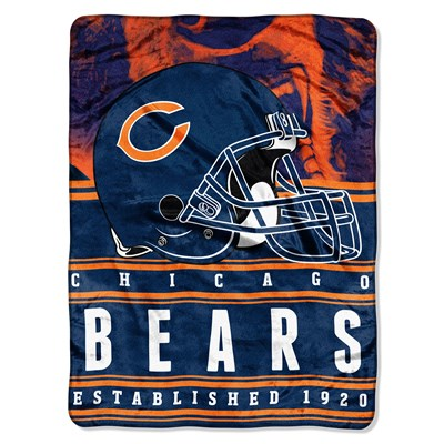 Silk Touch Throw Blanket - Chicago Bears