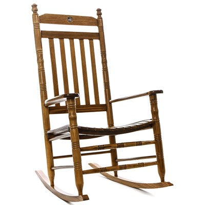U.S. Flag Fully Assembled Rocking Chair