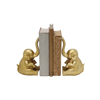 Elephant Bookends - Set of 2