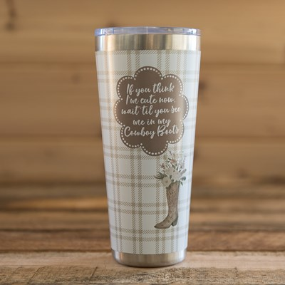 Ranch Boots Tumbler - 32 Oz.