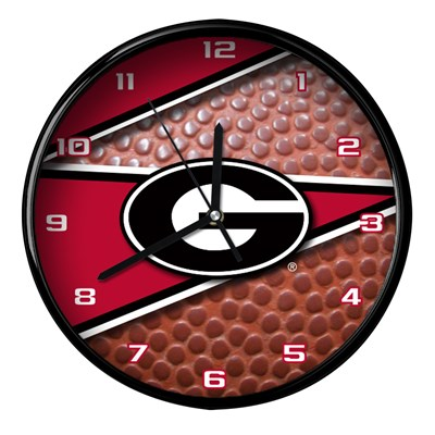 Georgia - Football Clock