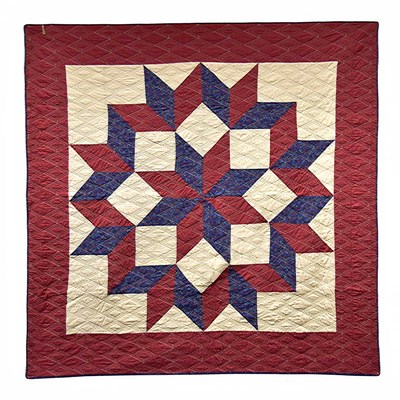 Gatlinburg Star Throw by Donna Sharp