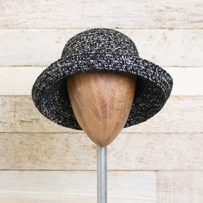 Marled Hat with Bow