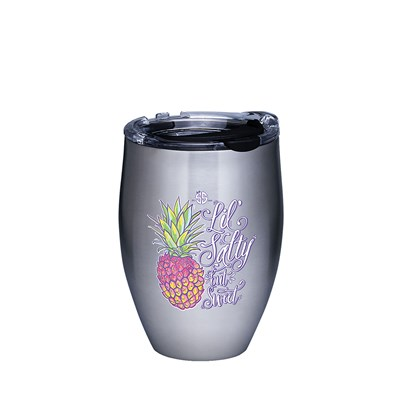 """Pineapple Lil Sweet"" 12 Oz. Stainless Steel Tumbler"