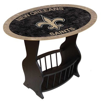 New Orleans Saints - Team Color End Table