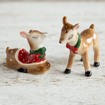 Reindeer Salt and Pepper Set