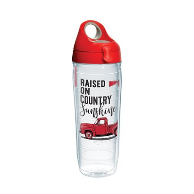 """Raised on Country Sunshine"" 24 Oz. Water Bottle"