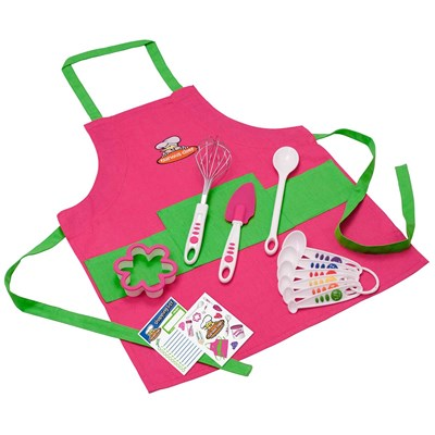 11 Piece Pink Chef's Kit