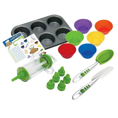 16 Piece Cupcake and Decorating Kit