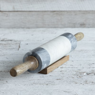 Oh Gussie! Stone and Wood Rolling Pin