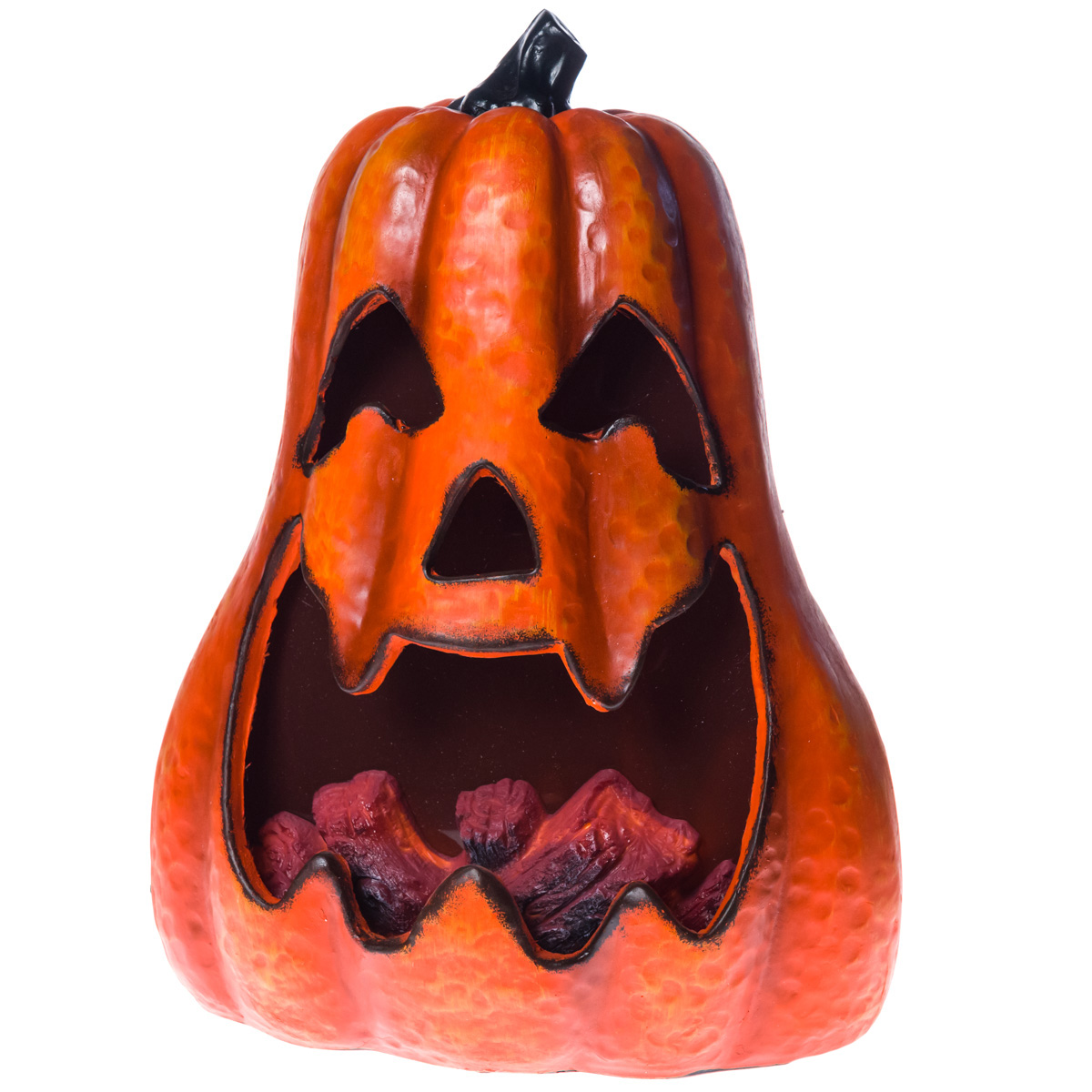 light up pumpkin with animated fire effect collections halloween cracker barrel old country store