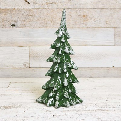 Large Ceramic Green Tree