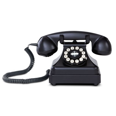 Crosley ® Kettle Classic Desk Phone - Black