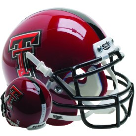 Texas Tech - Mini Helmet