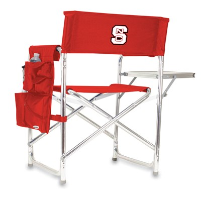 Portable Chair with Tray and Caddy - NC State