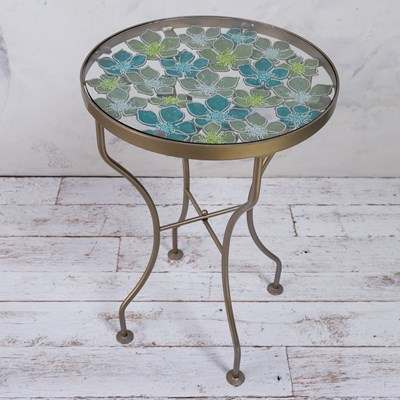Beaded Flower Table