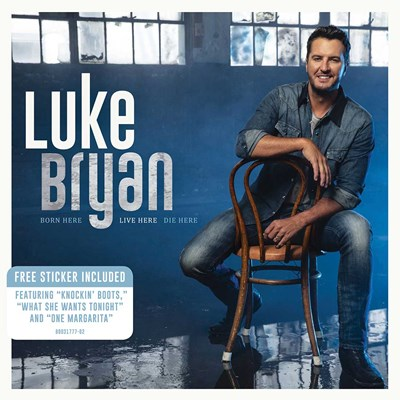 Luke Bryan - Born Here Live Here Die Here CD