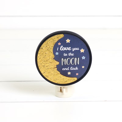 Moon and Back Night Light