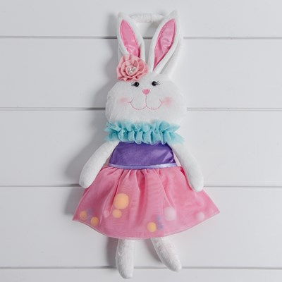 Bunny Purse with Pom Pom Skirt