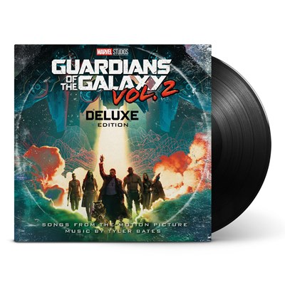 Guardians of the Galaxy Soundtrack Vol. 2 Deluxe Vinyl