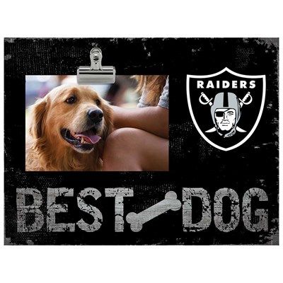 Oakland Raiders - Best Dog Clip Frame