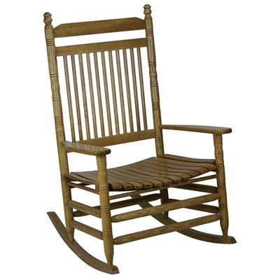 Jumbo Slat Rocking Chair - Hardwood