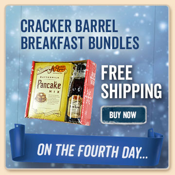12 days of christmas cracker barrel old country store for Is cracker barrel open on christmas day