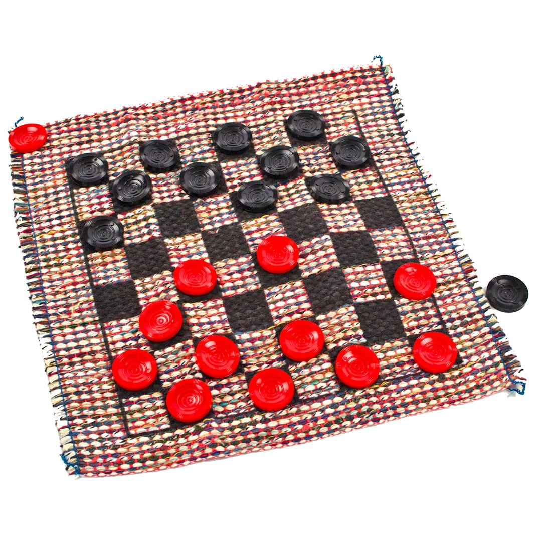Travel Checker Rug