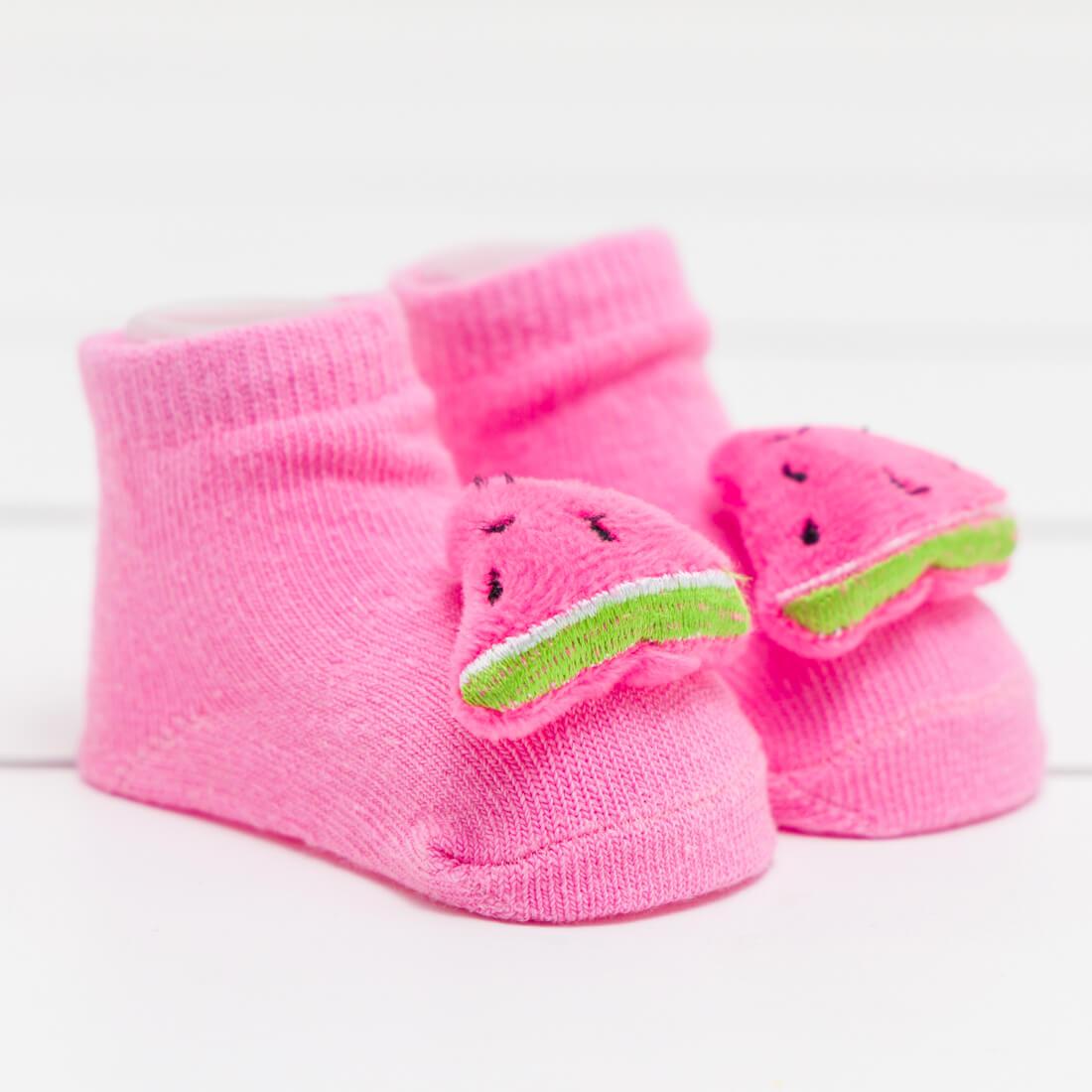 Watermelon Rattle Sock