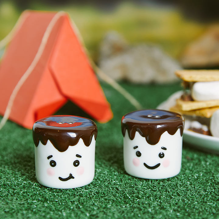 Marshmallow Salt and Pepper Shakers