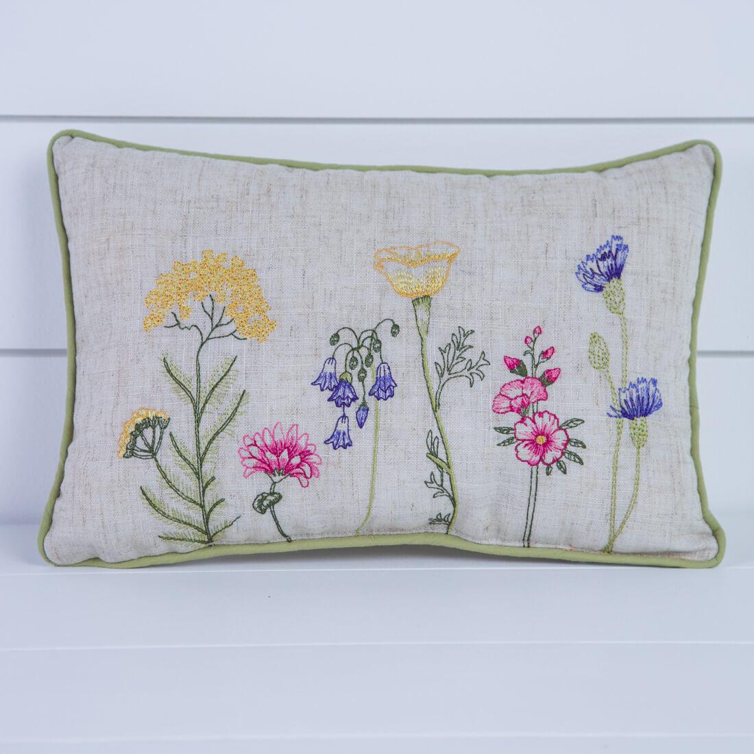 Floral Garden Pillow
