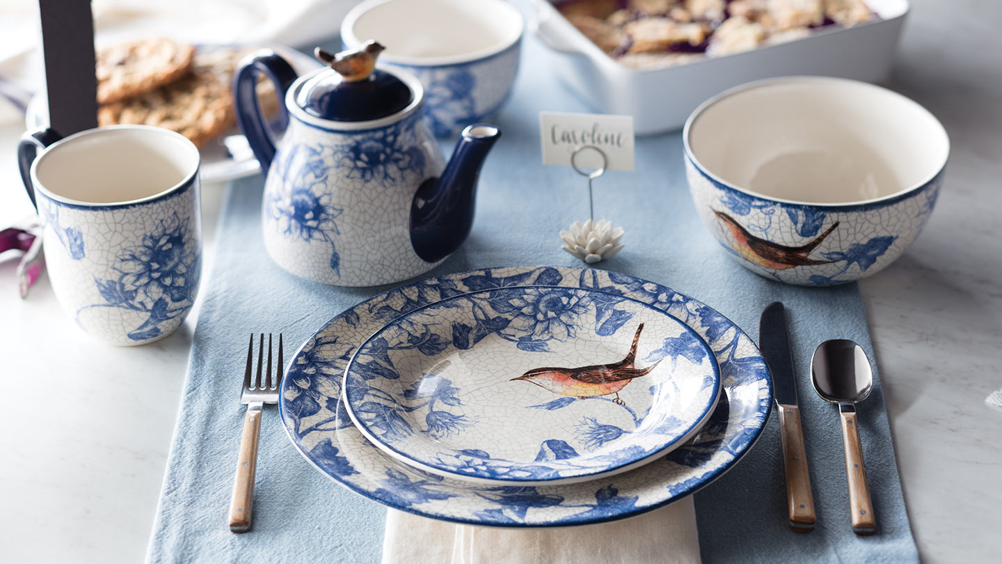 Garden-Inspired Dinnerware