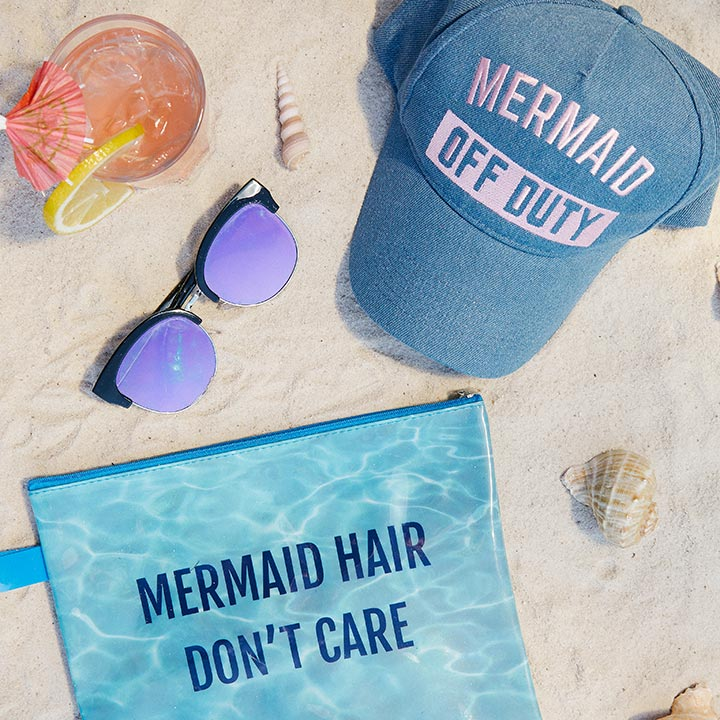 Coastal 'Mermaid Hair Don't Care'
