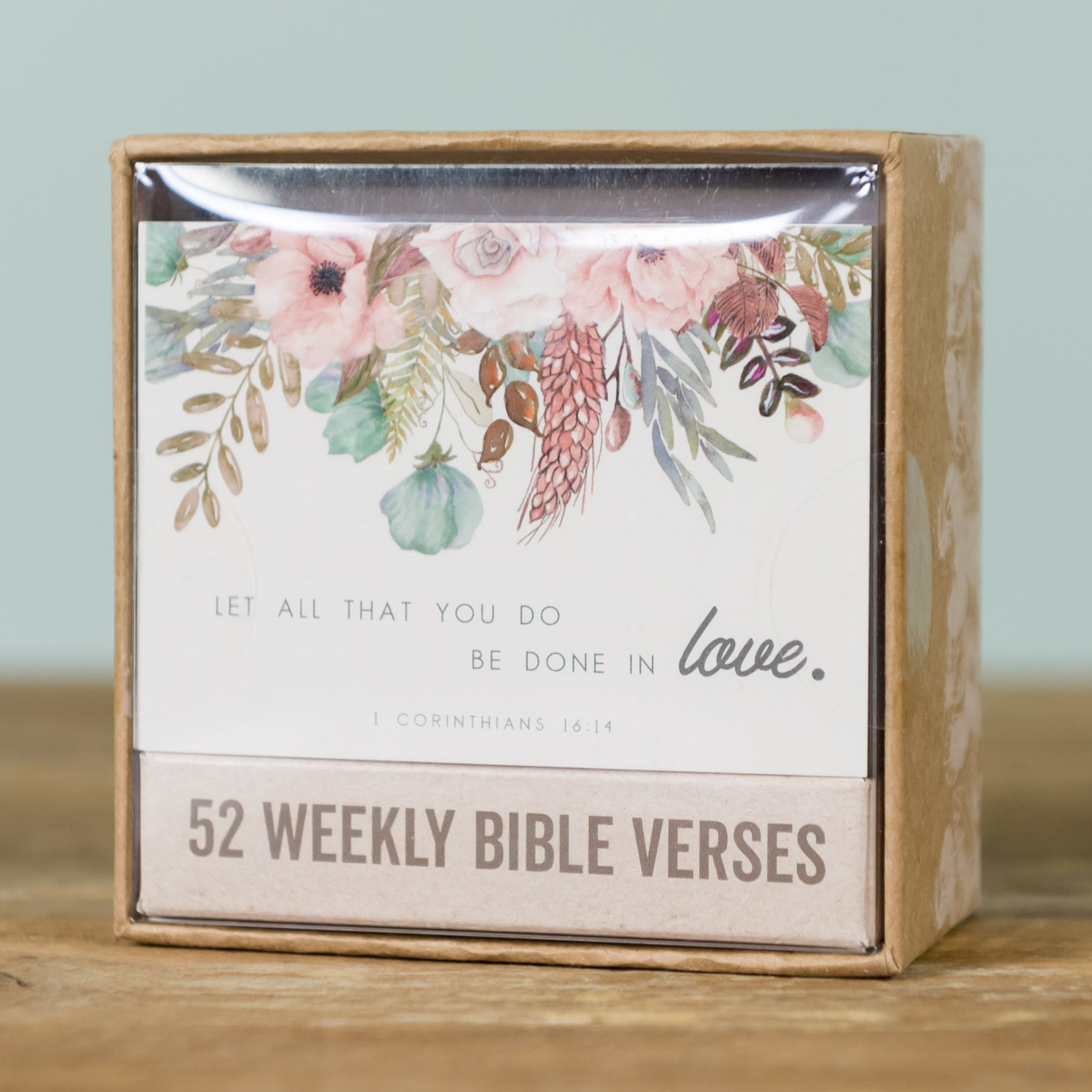 Weekly Bible Verse Cards