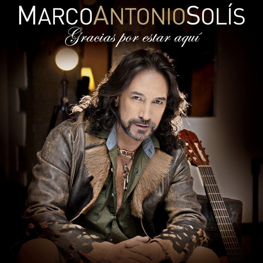 Marco Antonio Solis - Gracias Por Estar Aqui CD