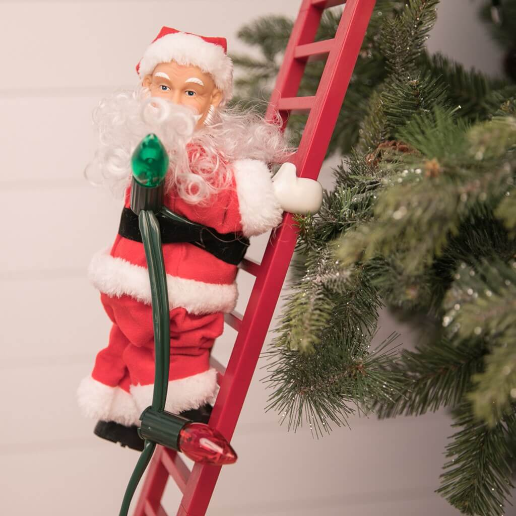 Santa Automated Tree Climber with Ladder