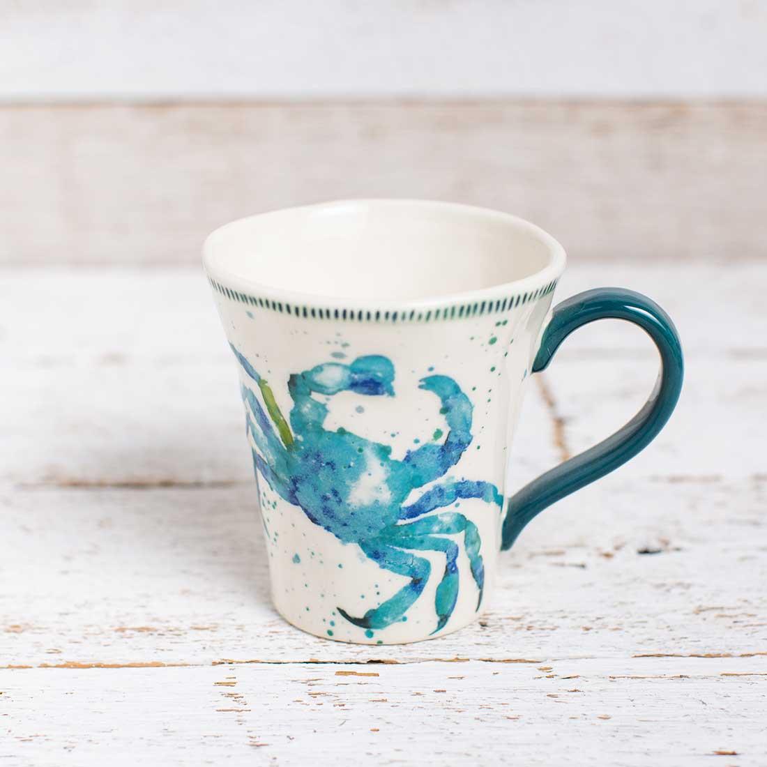 Stoneware Crab Mug