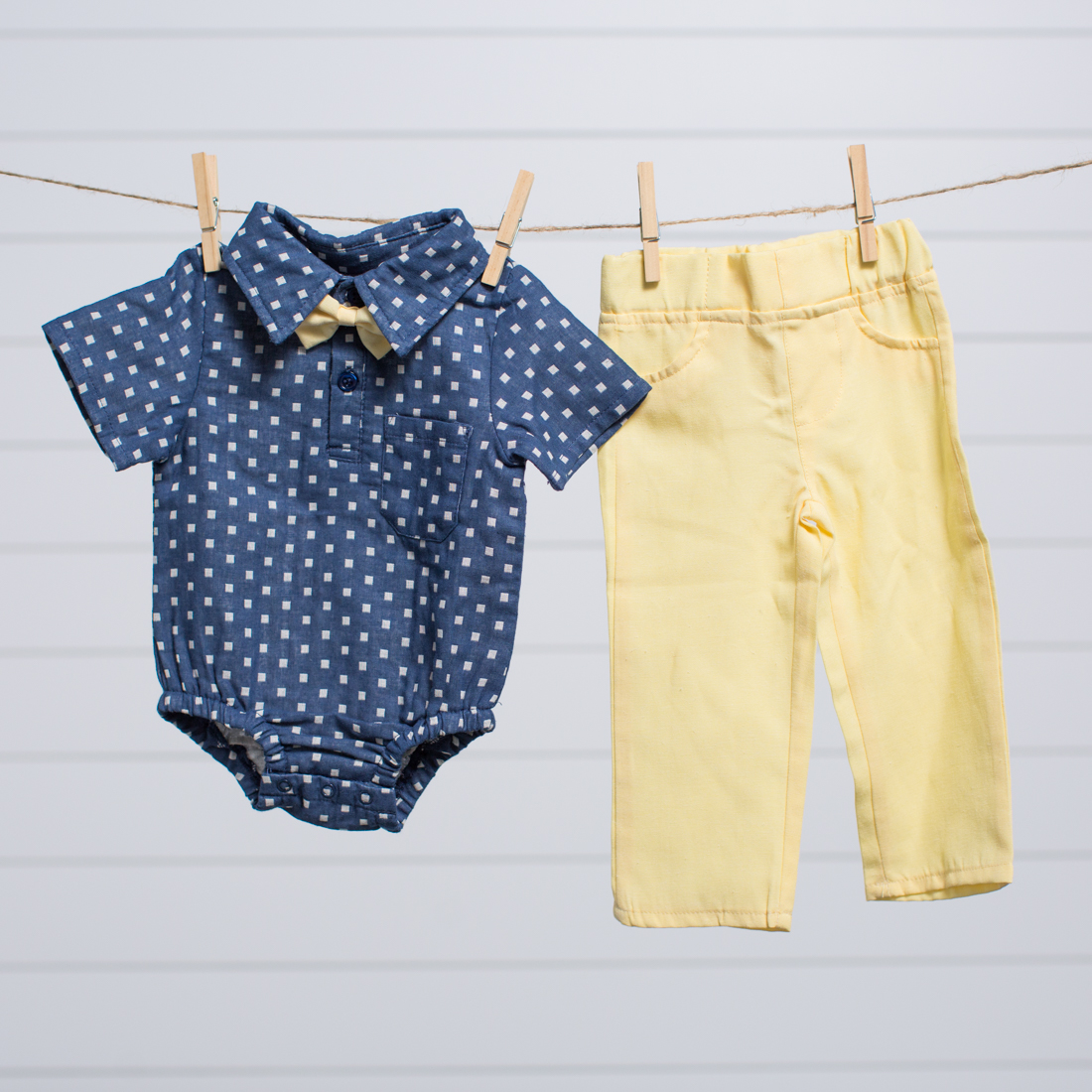 Infant Pant and Bowtie Set