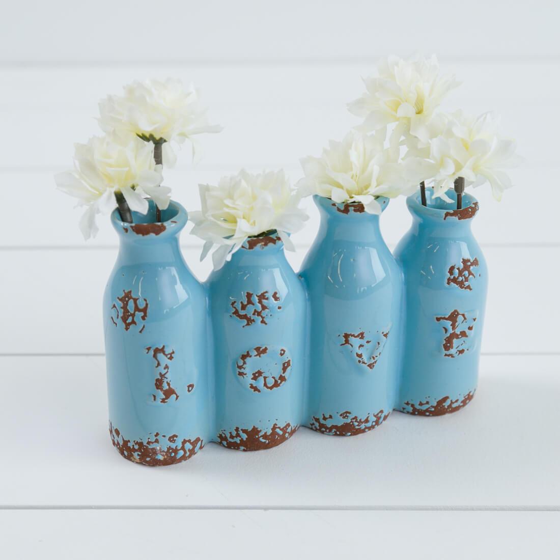 Ceramic Love Posy Vases